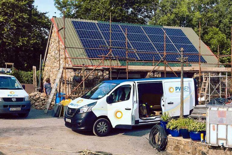 solar pv panels site survey cork
