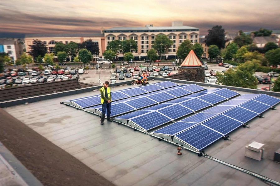 commercial solar pv installations
