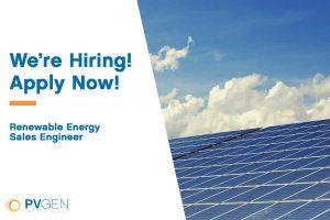Renewable Energy Sales Engineer